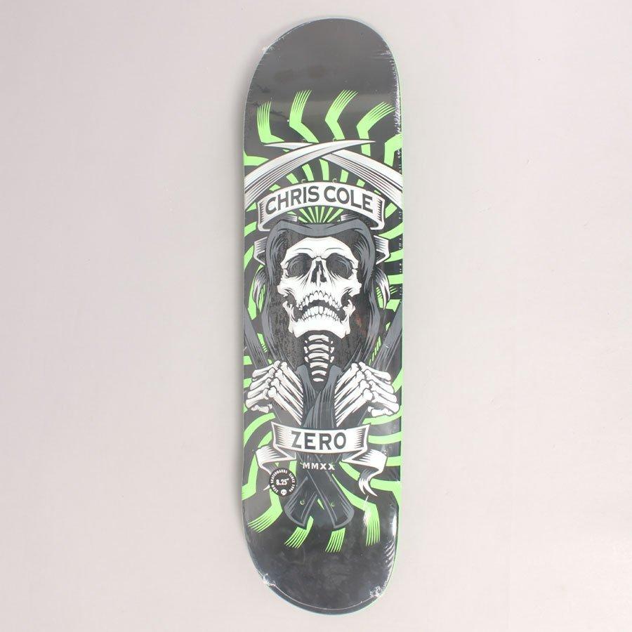 "Zero Cole MMXX Green Skateboard Deck - 8,25"""