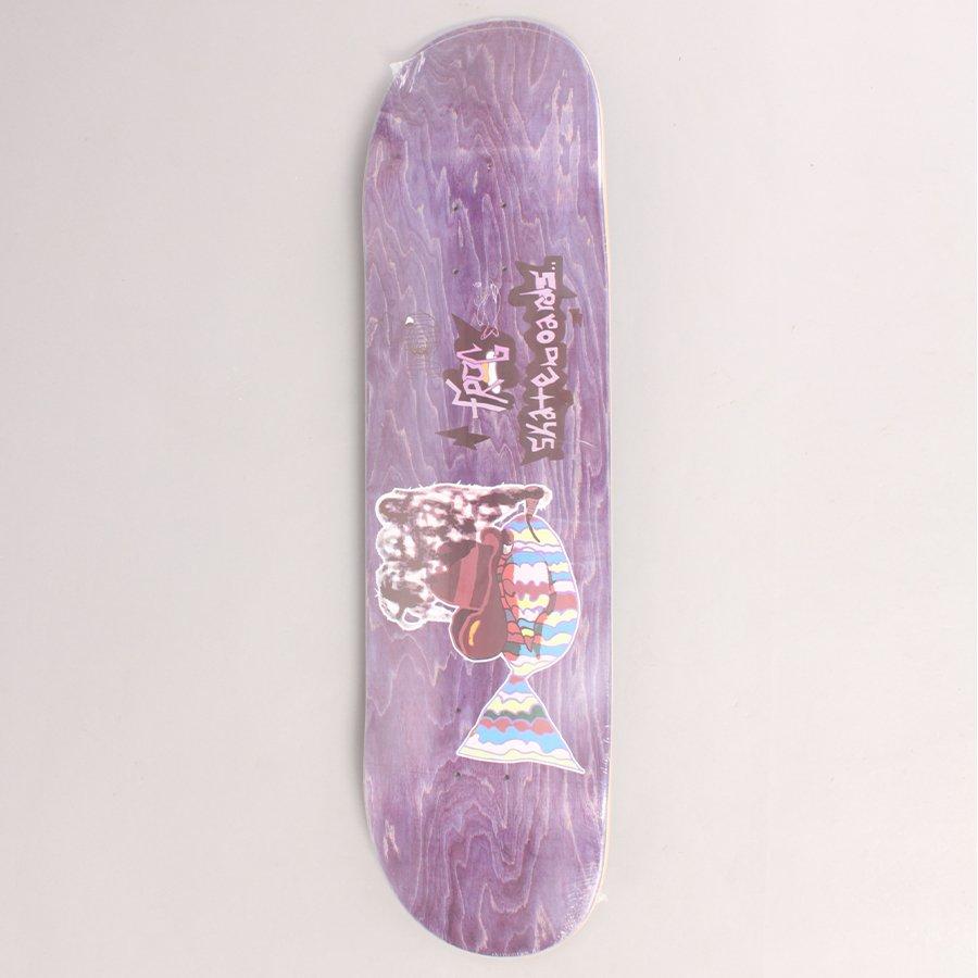 """Frog Smoking Fish Skateboard Deck - 8,25"""""""