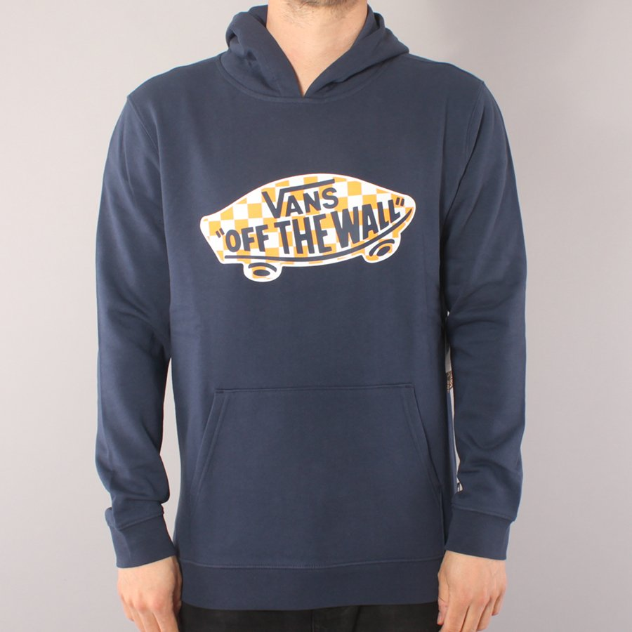 Vans Off The Wall Pullover Youth Hood - Dress Blue