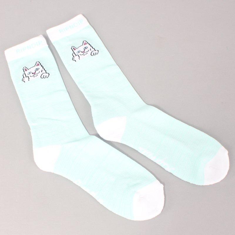 Rip N Dip Peeking Nermal Socks - Mint