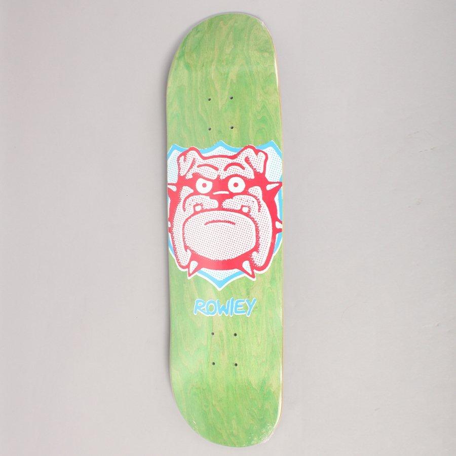 "Free Dome Rowley Trophy Green Skateboard Deck - 8,375"""