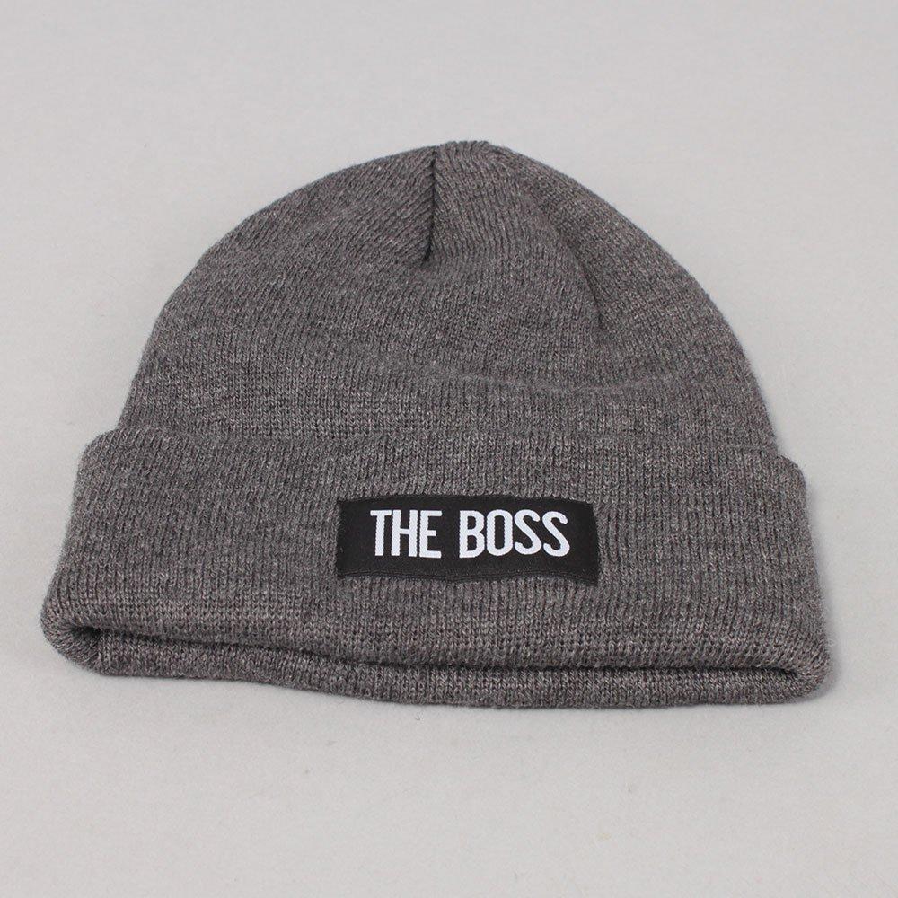The Boss Logo Beanie - Grey