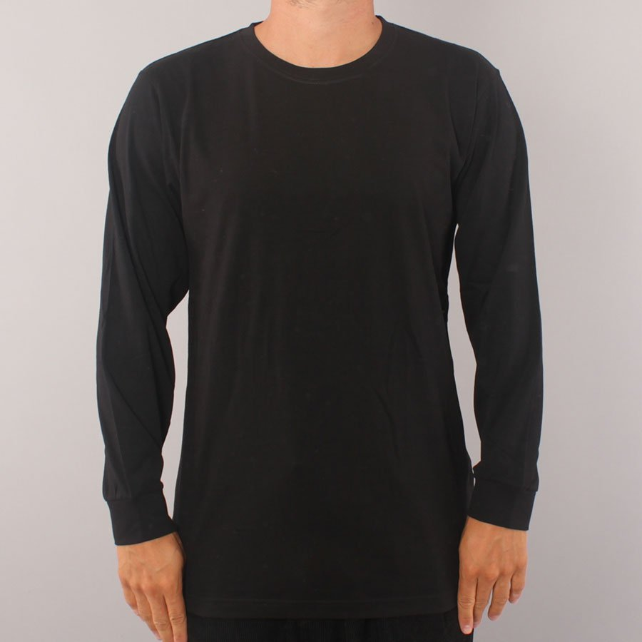 The Boss No Logo LS T-shirt - Black