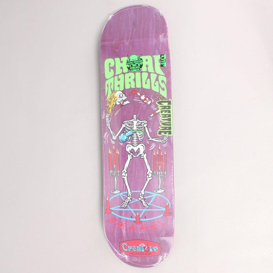 """Creature Kevin Bækkel Cheap Thrills Skateboard Deck - 8,375"""""""