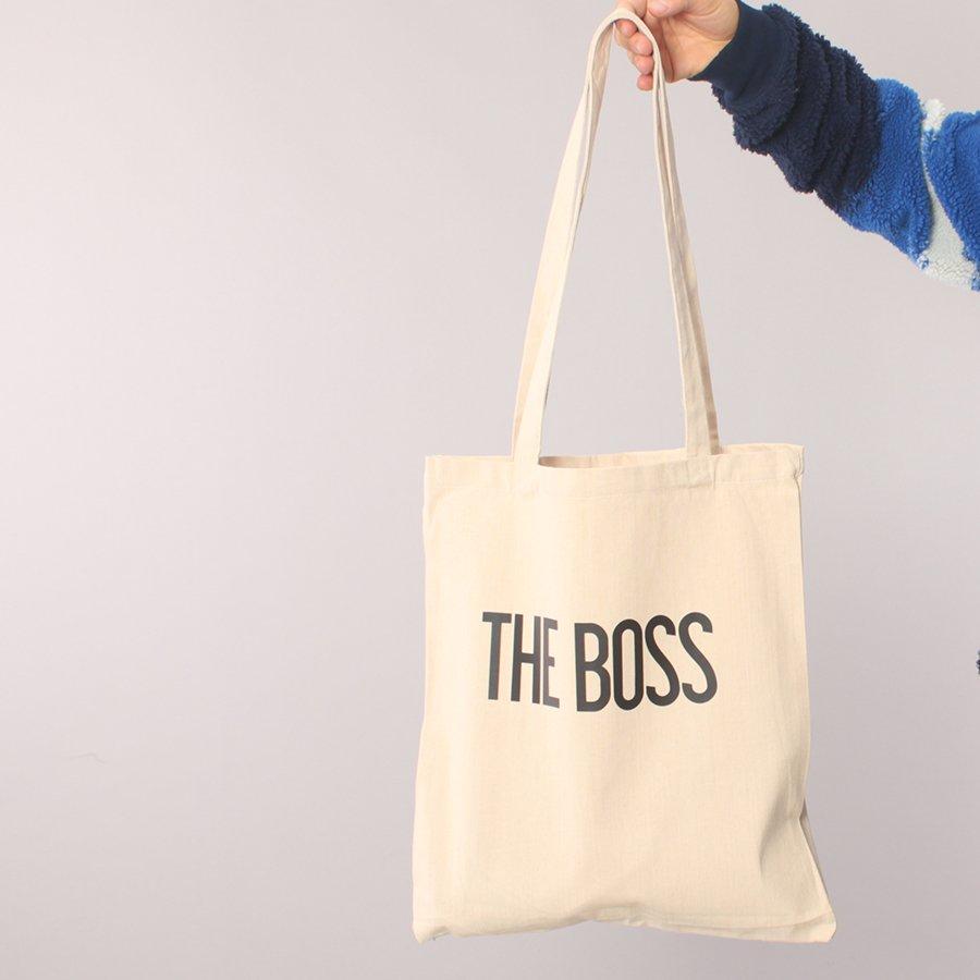 The Boss Logo Recycling Bag - Nature