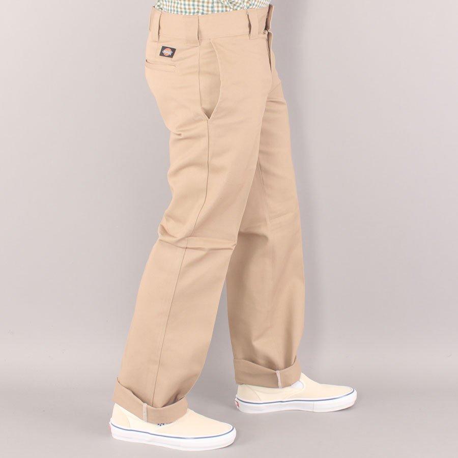 Dickies Slim Straight W873 Work Pant Chino - Khaki