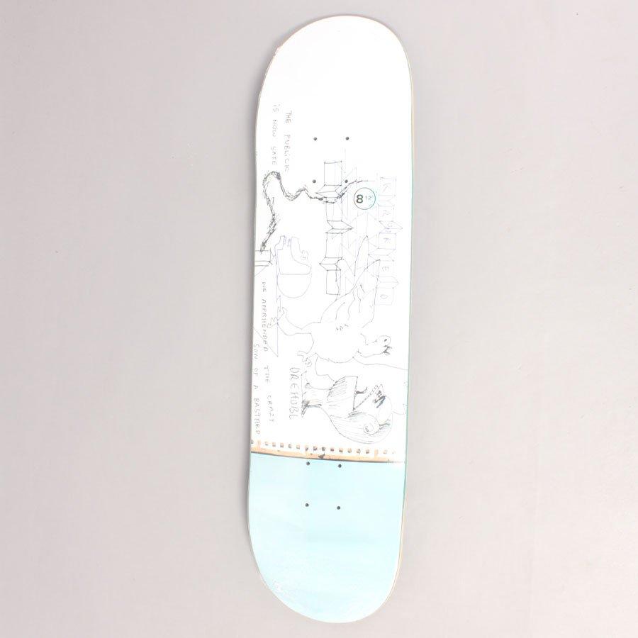 """Krooked Drehobl Public Skateboard Deck - 8,12"""""""
