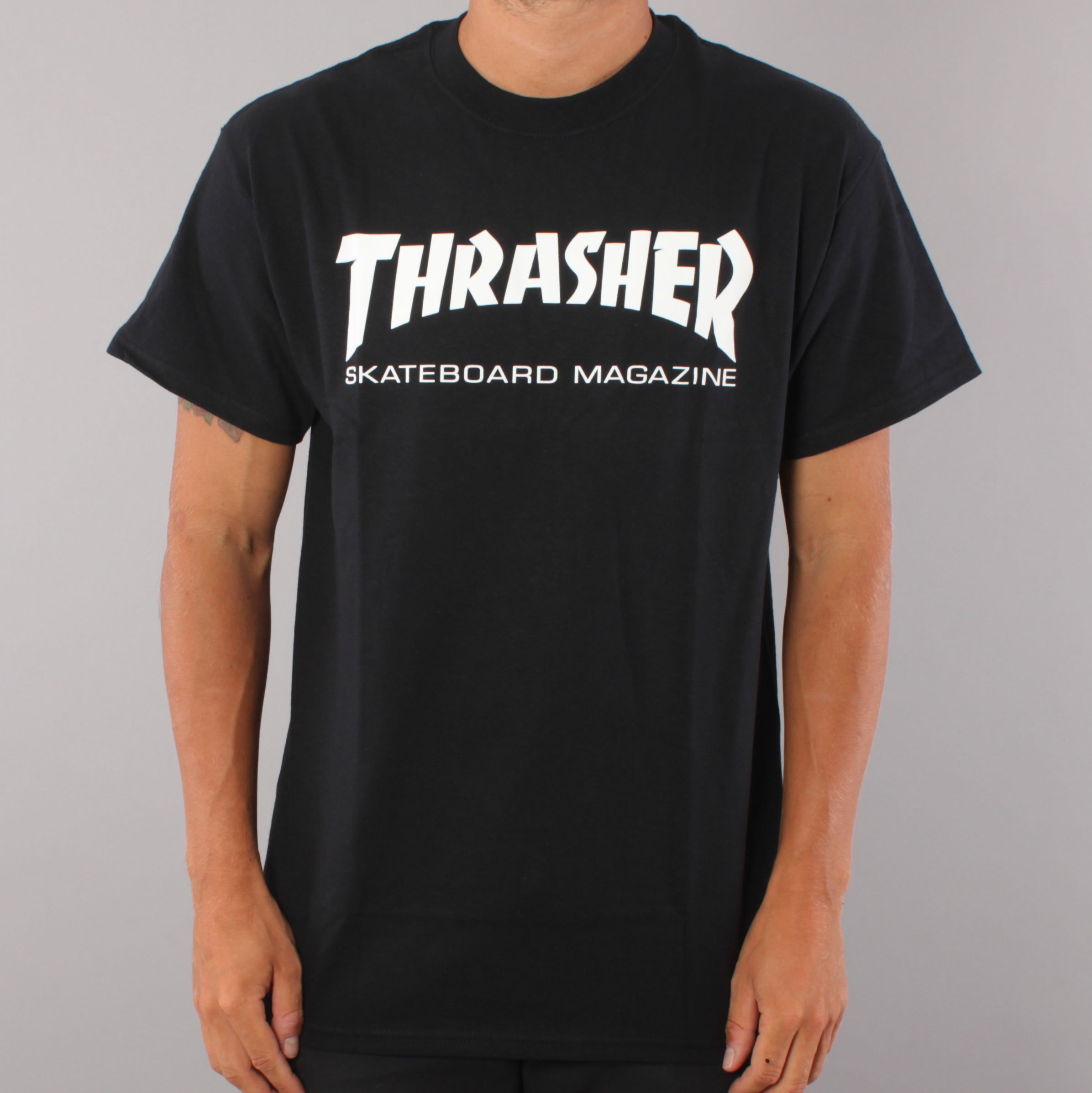 Thrasher Skate Mag T-shirt - Black