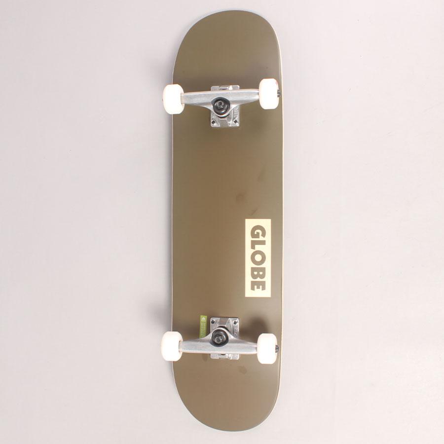 "Globe Goodstock Army Green Complete Skateboard - 8,25"""