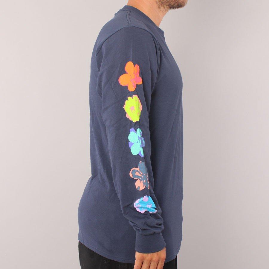 Huf Adored LS T-shirt  - Navy
