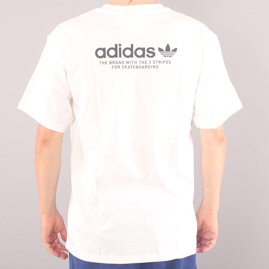 Adidas Skateboarding 4.0 Logo T-shirt - White