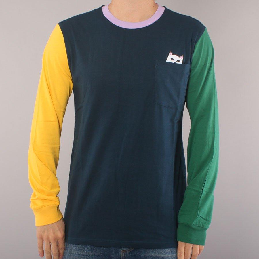 Rip N Dip Color Block LS T-shirt - Multi