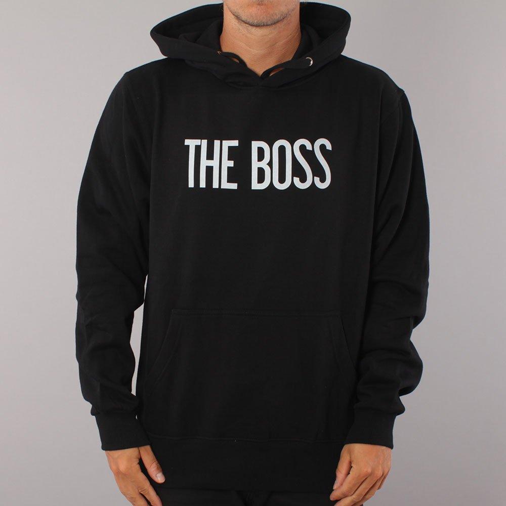 The Boss Logo Hood Youth - Black