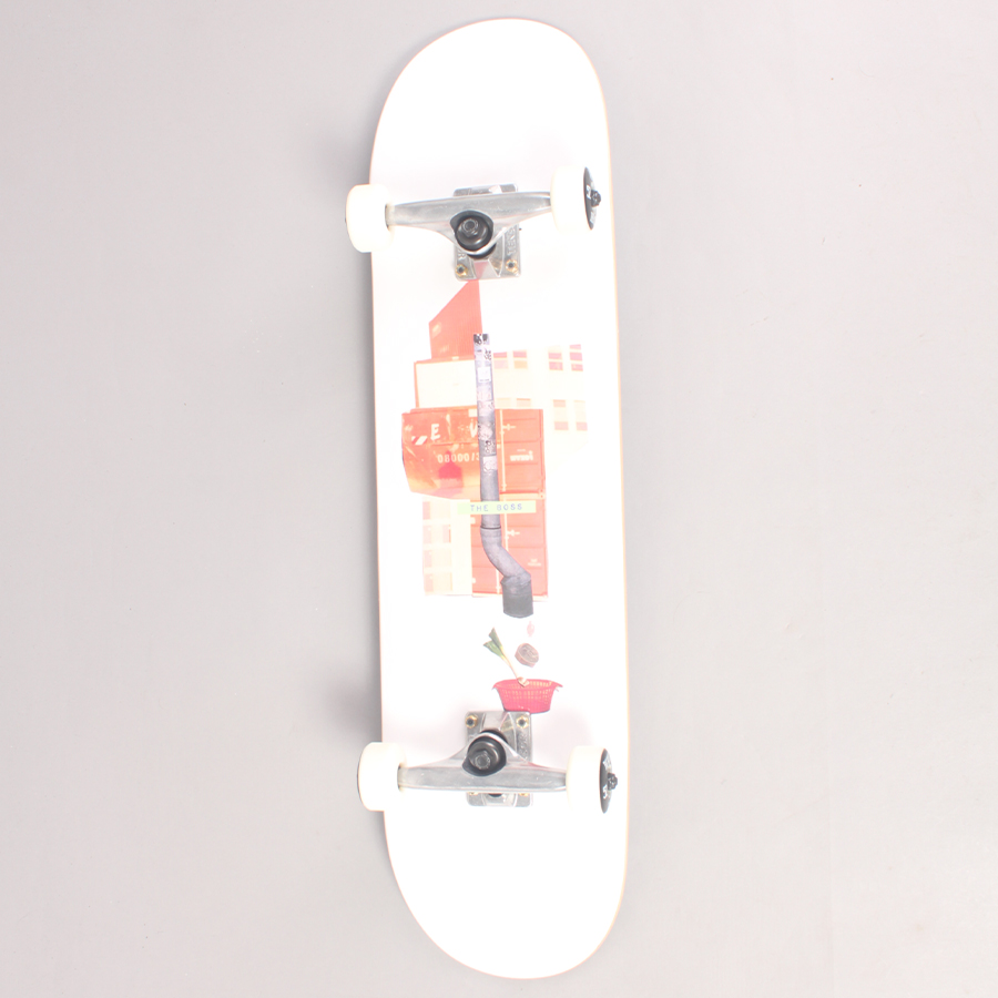 The Boss Down The Drain Complete Skateboard