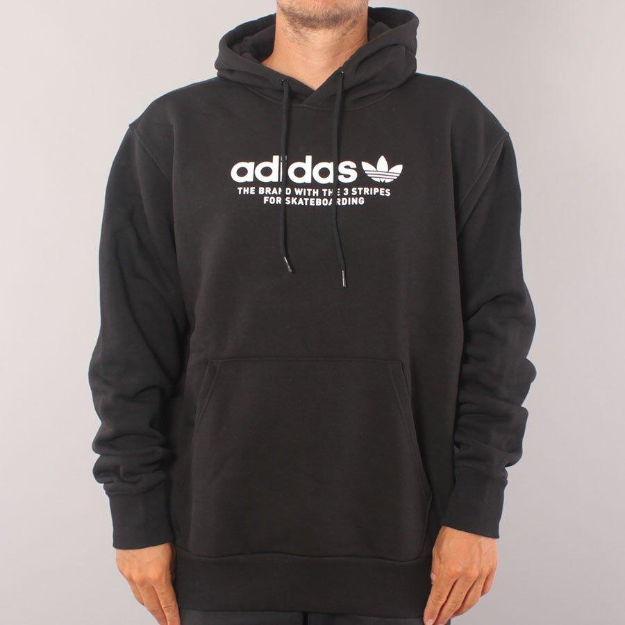 Adidas Skateboarding 4.0 Logo Hoodie - Black/White