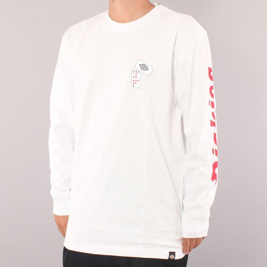 Dickies Jamie Foy Graphic LS T-Shirt - White
