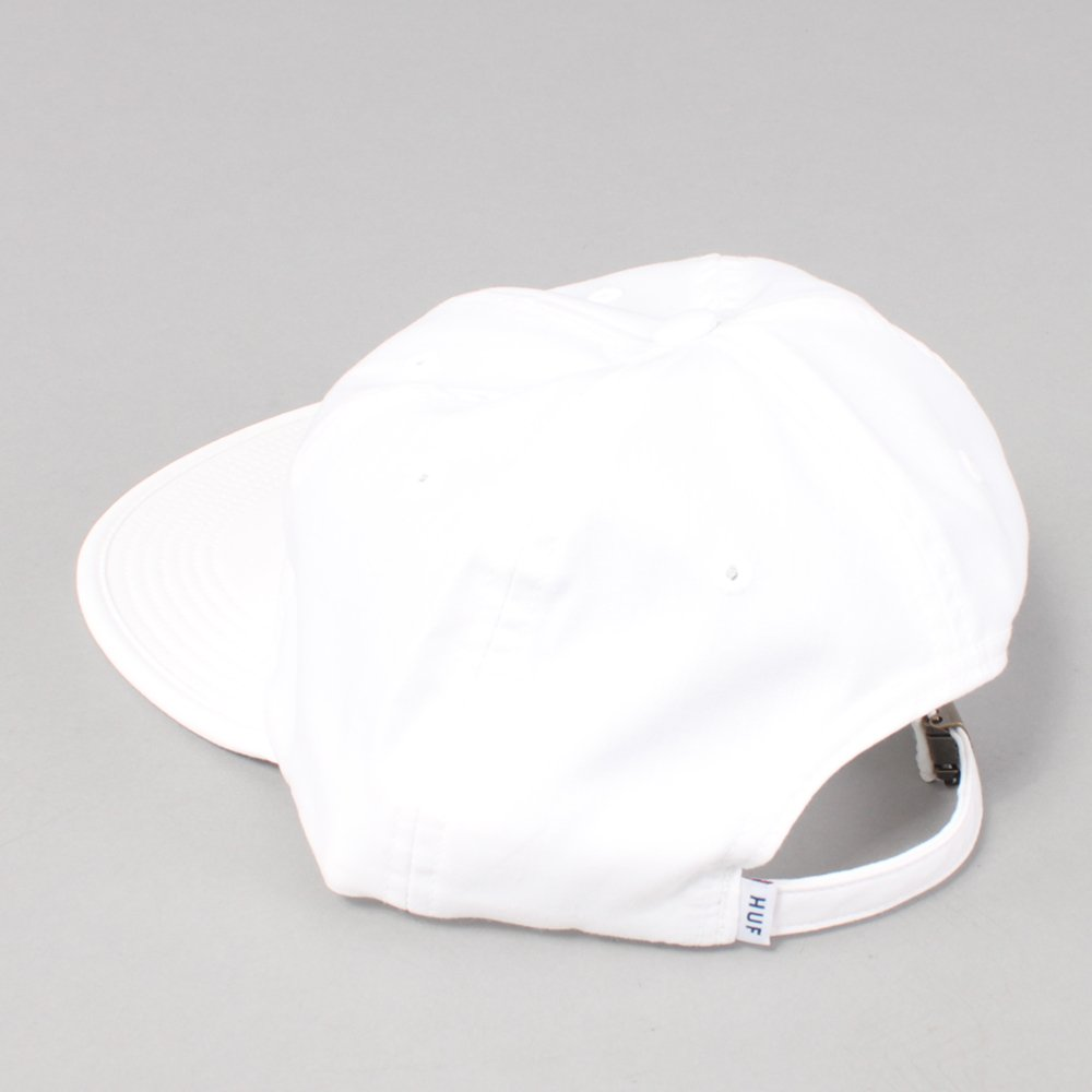Huf Classic H Formless 6 Panel Cap - White/Green