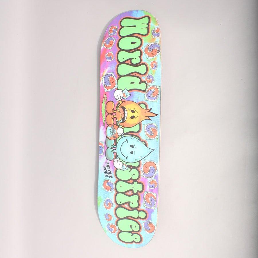 "World Industries Tide Pods Skateboard Deck - 8,25"""