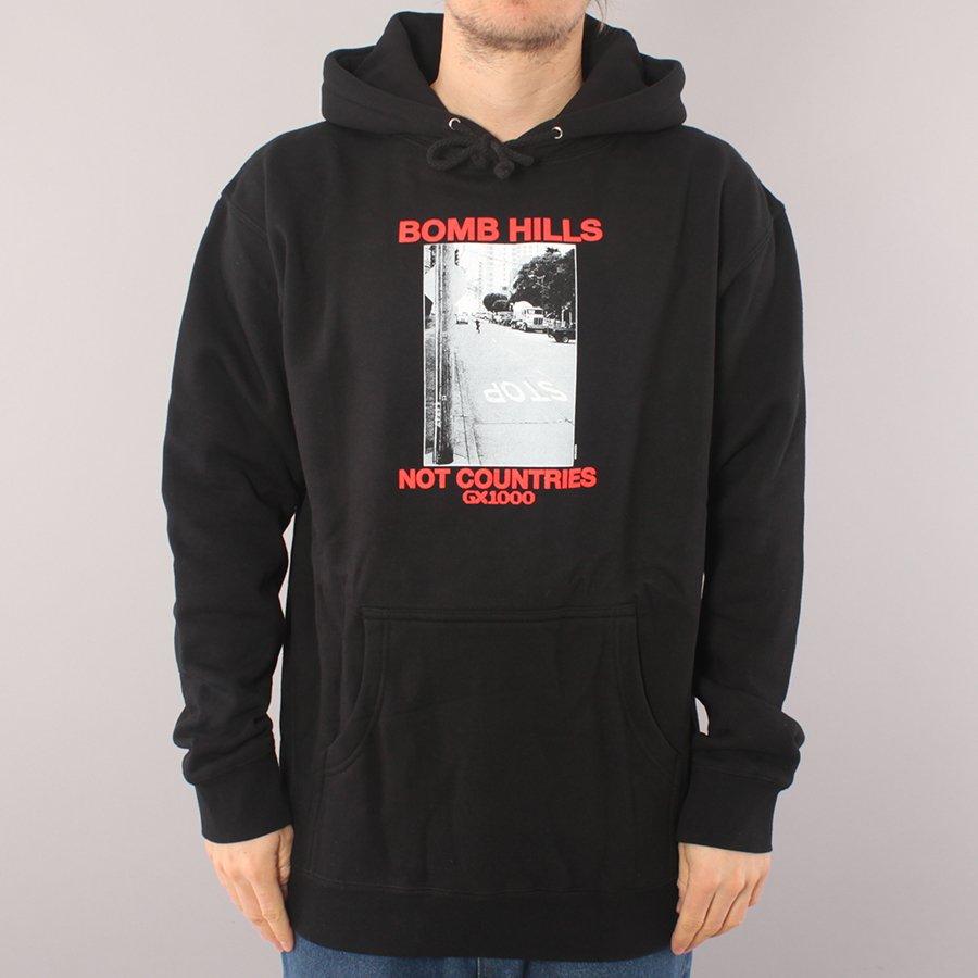 GX1000 Bomb Hills Hoodie - Black