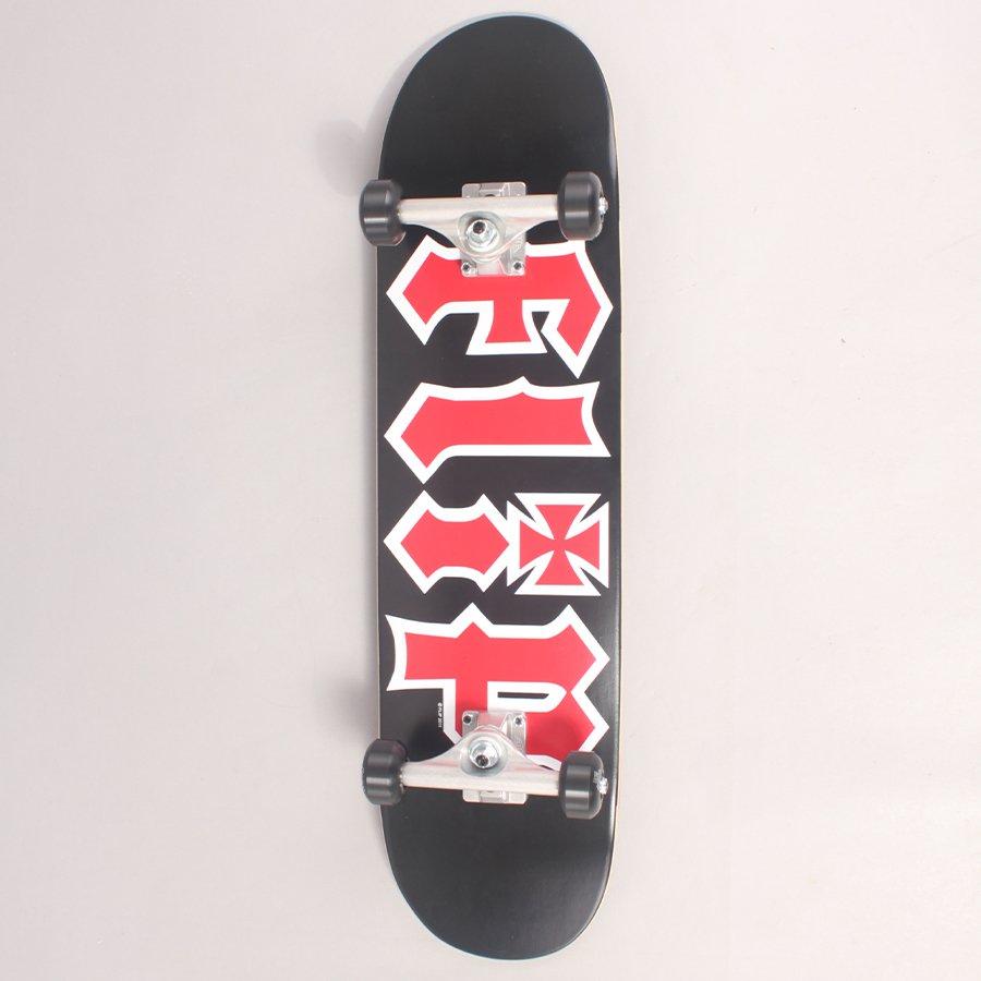 "Flip HKD Black Complete Skateboard - 8,00"""
