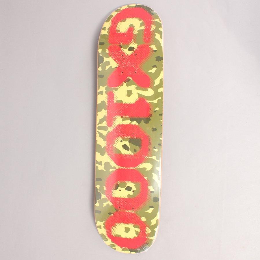 "GX1000 OG Forest Camo Skateboard Deck - 8,125"""