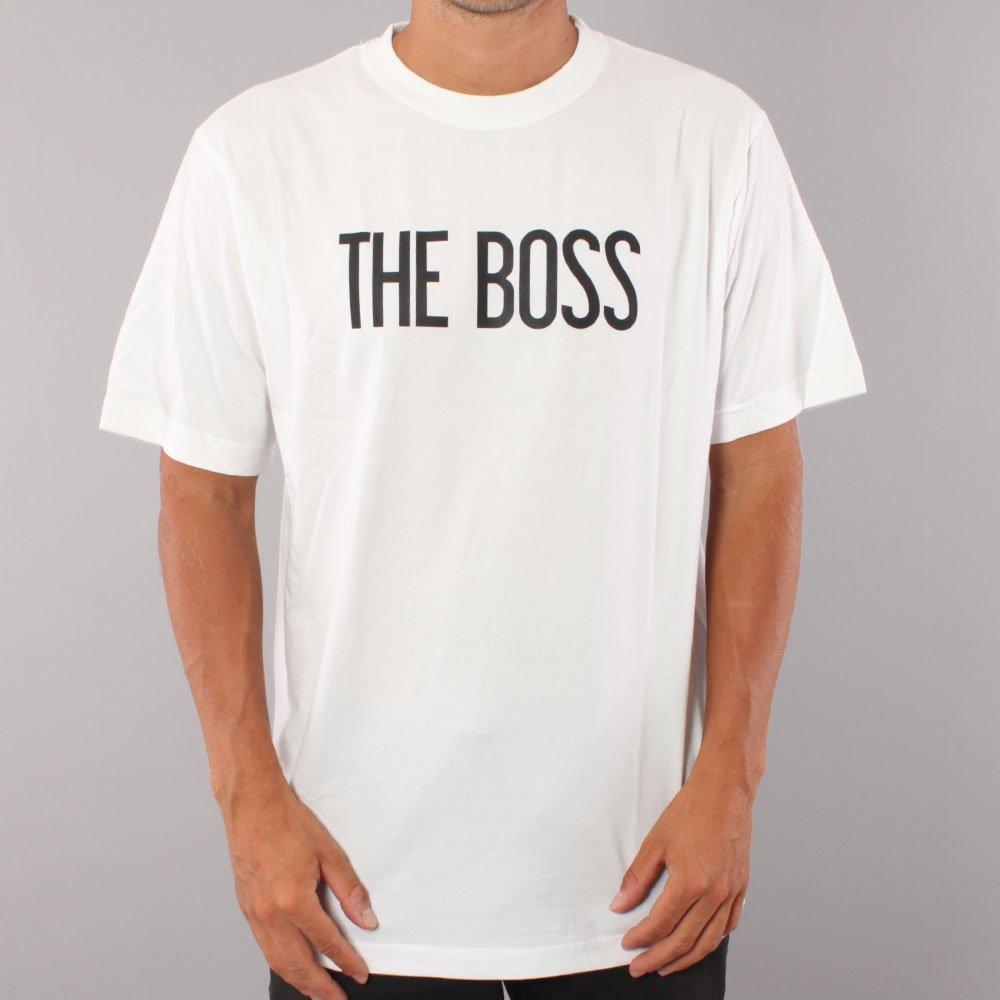 The Boss Logo youth t-shirt - White