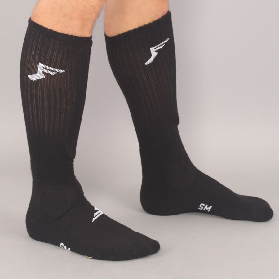 Footprint Painkiller Socks - Black-S/M