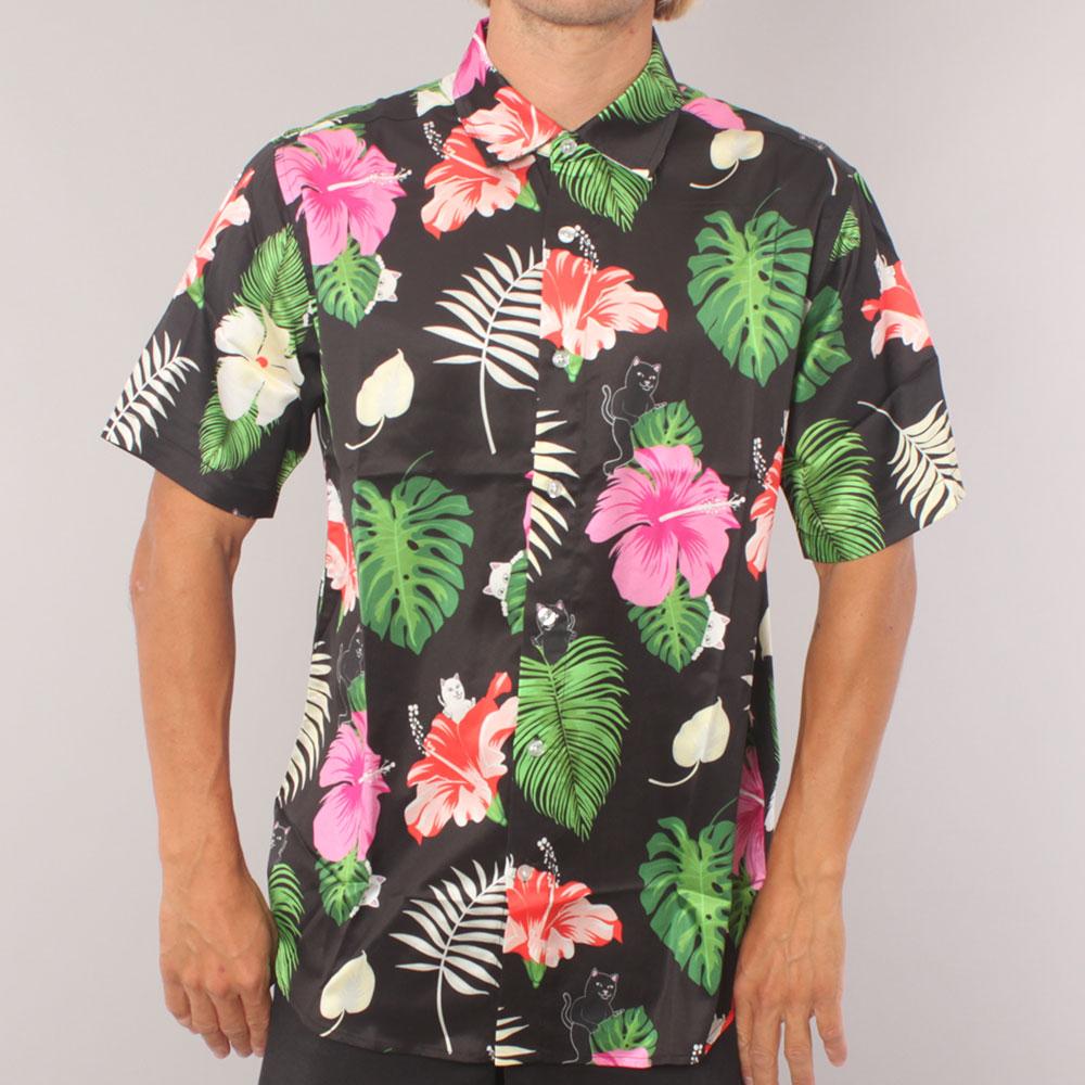 Rip N Dip Maui Nerm Button UP SS Woven - Black