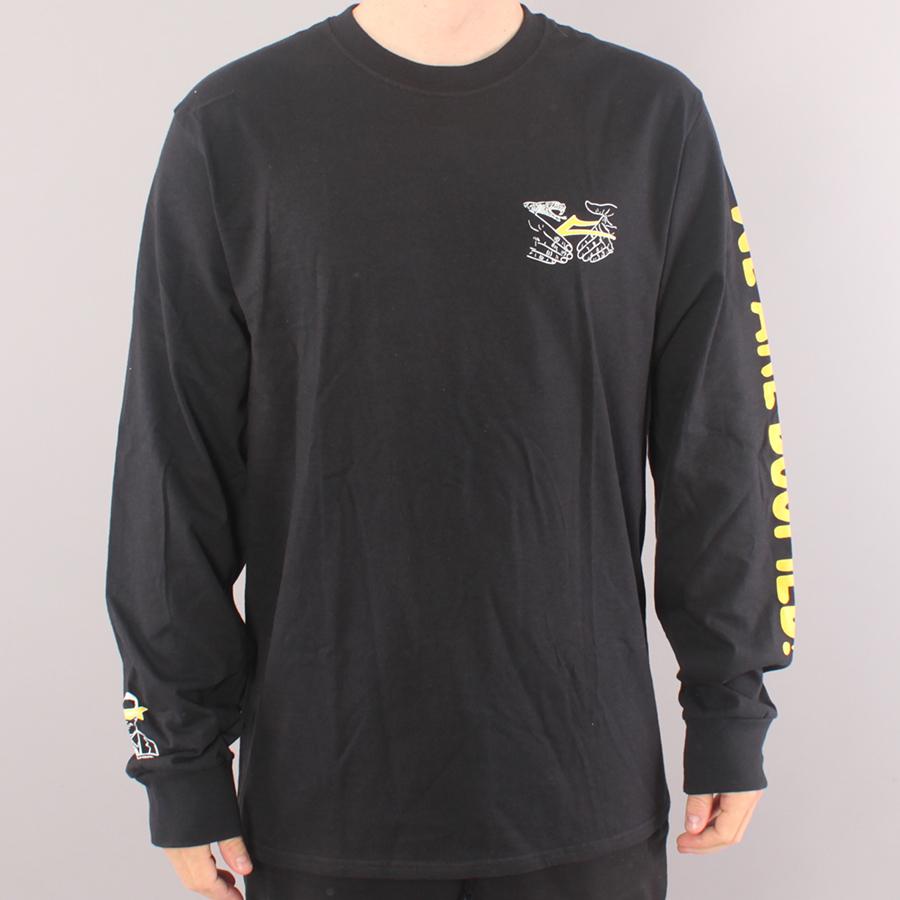 Lakai x Doom Sayers Shake Flare LS T-shirt - Black