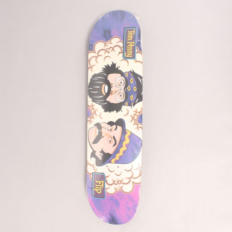 """Flip Toms Friends Purple Haze Skateboard Deck - 8,13"""""""
