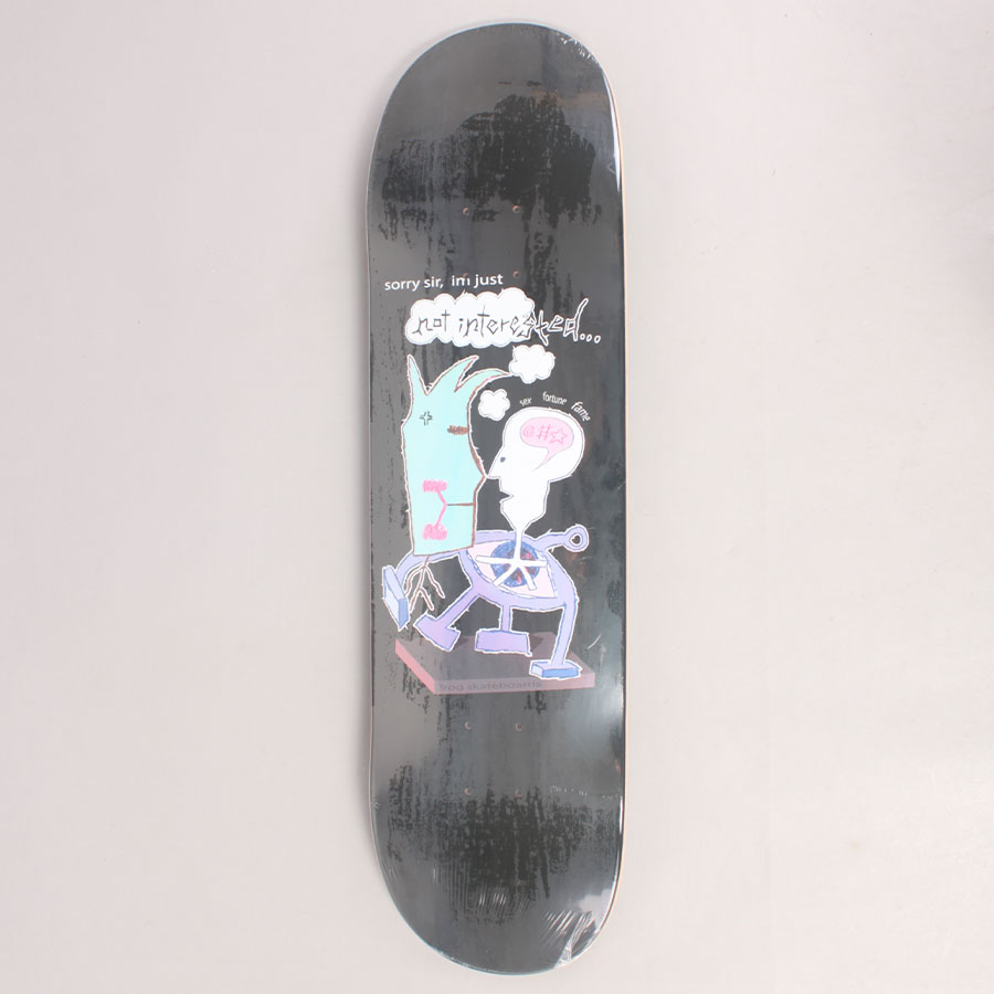 Frog Pat Gallaher Not Interested Skateboard Deck