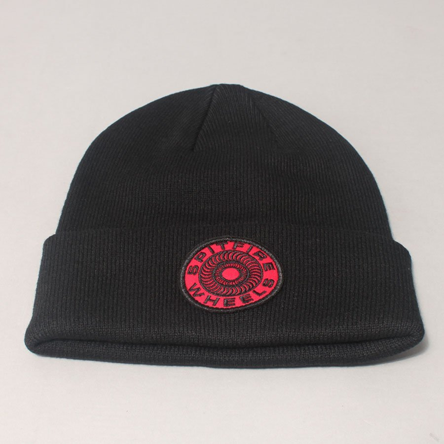 Spitfire Classic 87' Beanie - Black/Red