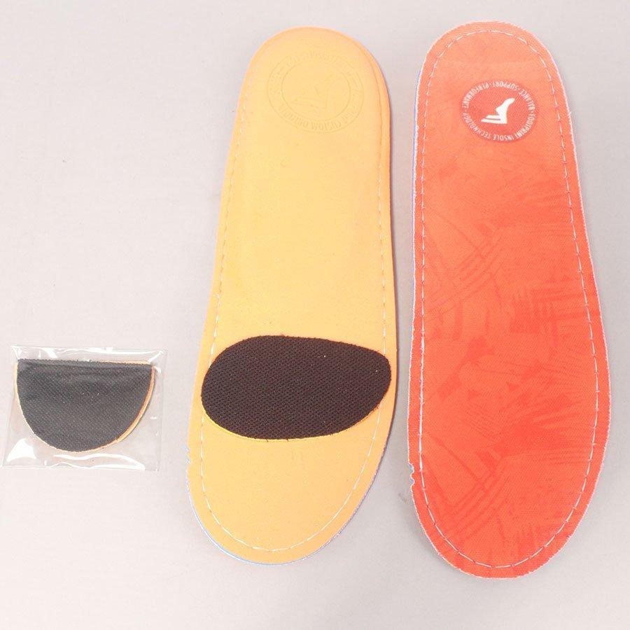 Footprint Insoles Orange Camo King Foam Orthotics Insole