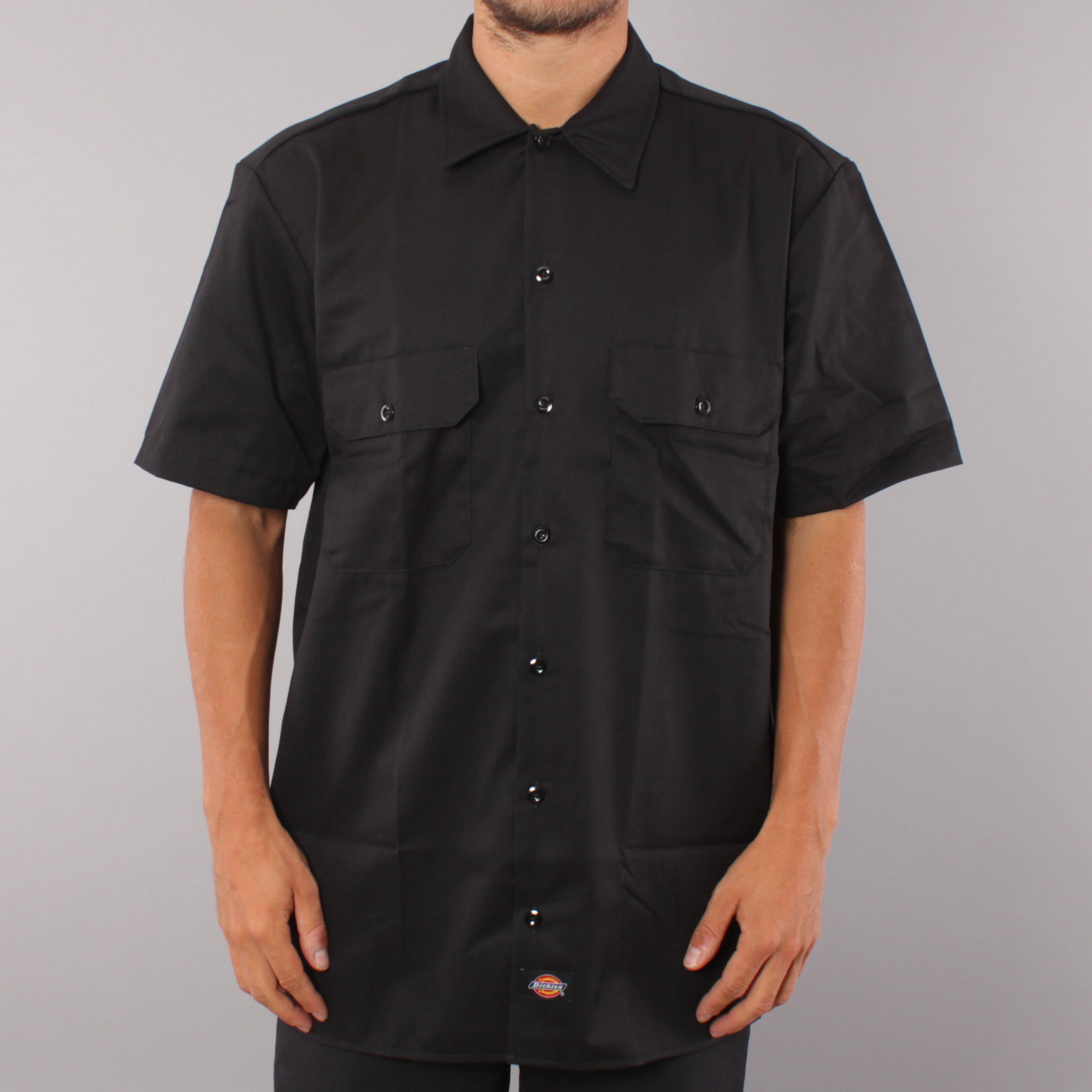 Dickies ss Work Shirt - Black