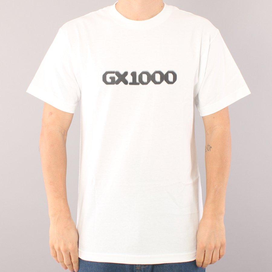 GX1000 Dithered Logo T-shirt - White