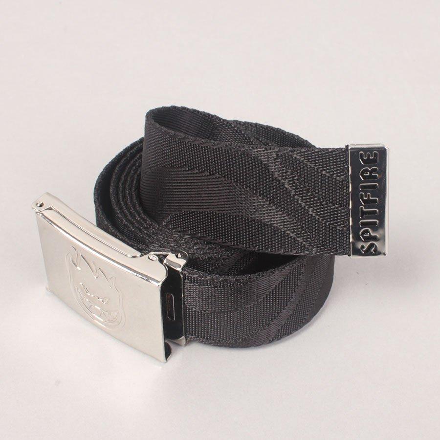 Spitfire Bighead Jacquard Swirl Web Belt - Black