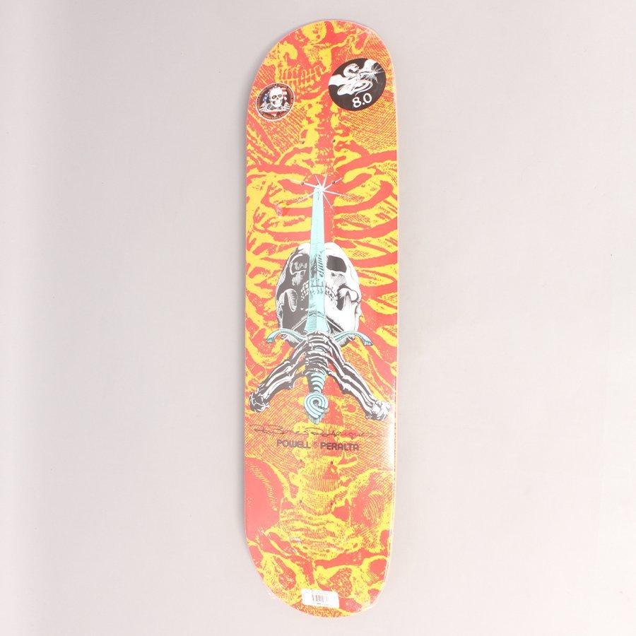 "Powell Peralta Sword & Skull Skateboard Deck - 8,00"""