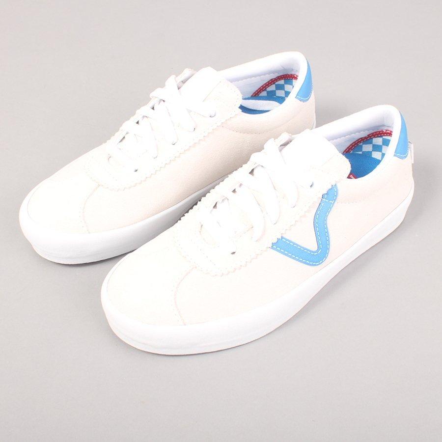 Vans Skate Sport - Off White/Director Blue
